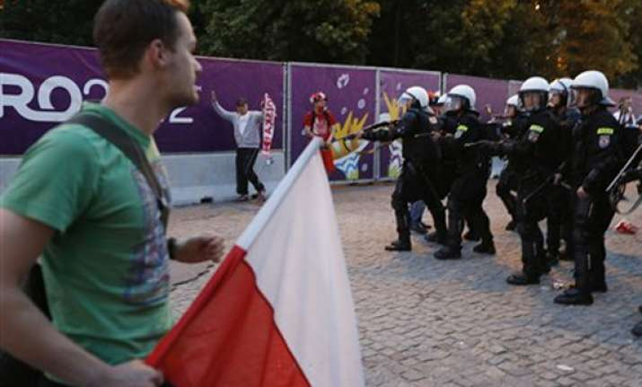 uefa condemns isolated violence at euro 2012