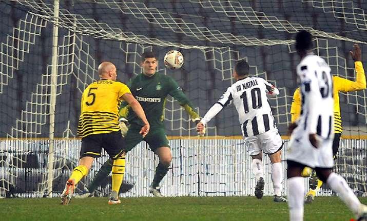 udinese rubin kazan advance in europa league