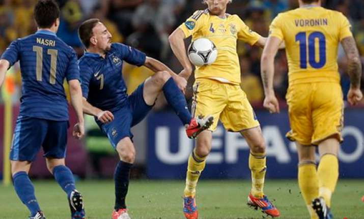 ukraine must bounce back after loss to france