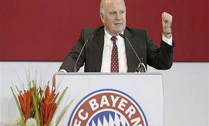 uli hoeness slams media as bayern munich elects successor