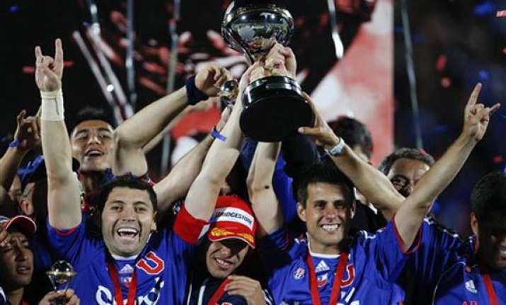 universidad de chile wins copa sudamericana final