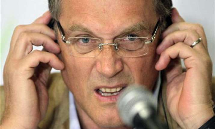 valcke expects quiet world cup despite protests