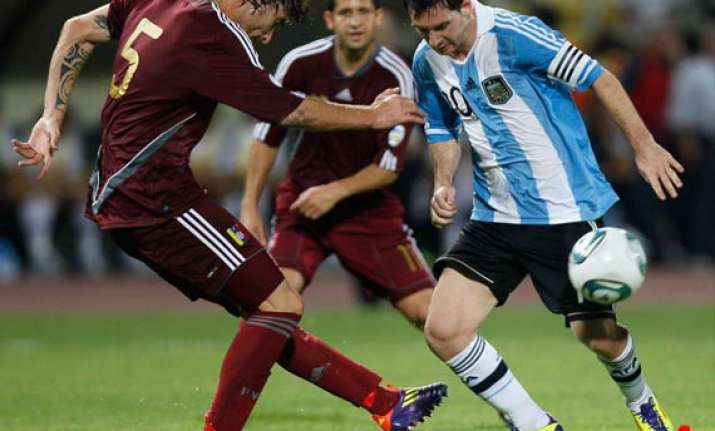 venezuela beats argentina 1 0 in wcup qualifier