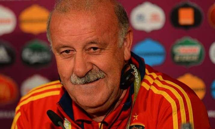 vicente del bosque names spain s preliminary world cup squad