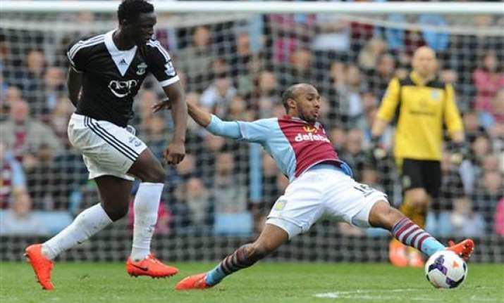 villa draws 0 0 with southampton in premier league