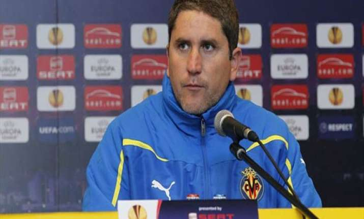 villarreal fires coach garrido after cup exit