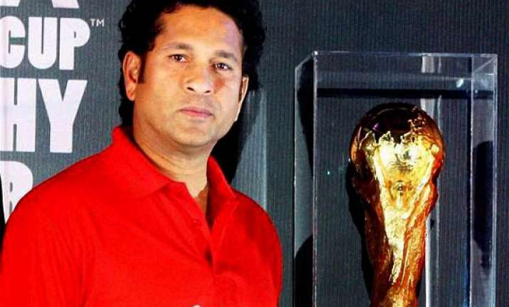 when fifa world cup trophy visited india