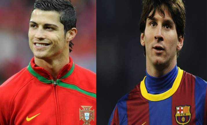 messi ronaldo head to head