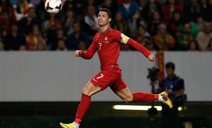 world cup playoff ronaldo portugal await draw