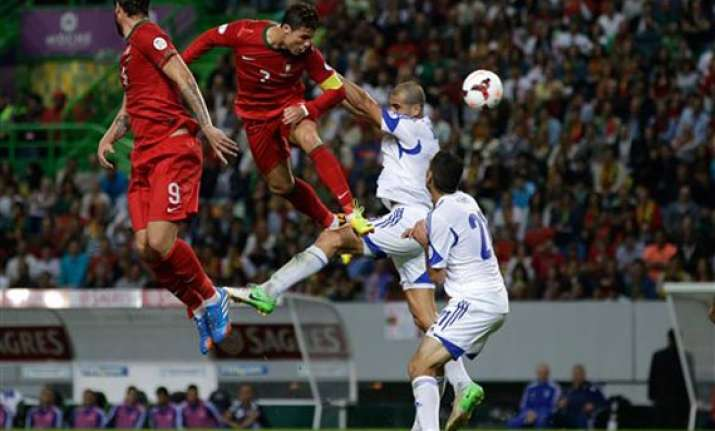 world cup playoff portugal faces sweden