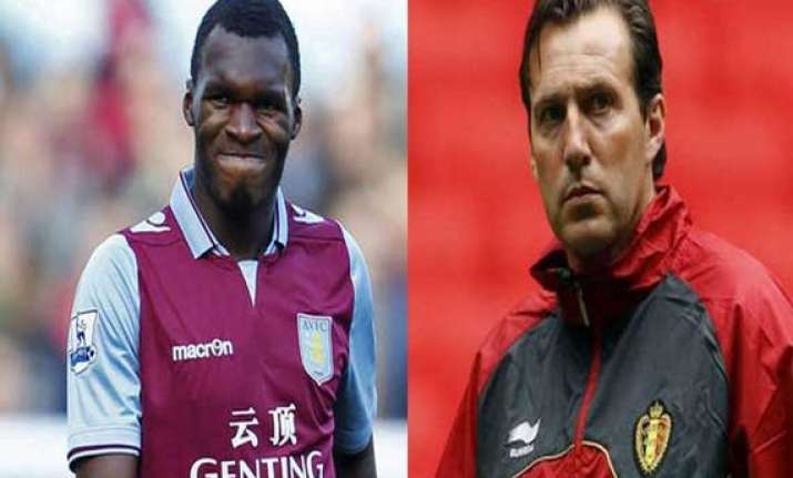 world cup qualifier belgium coach counting on benteke