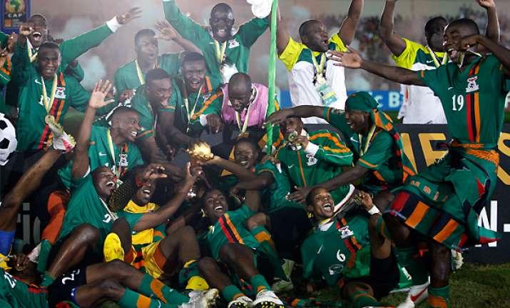 zambia soars in fifa rankings germany up to no. 2