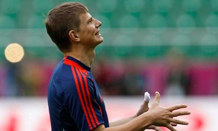 zenit stars dominate russia team at euro 2012