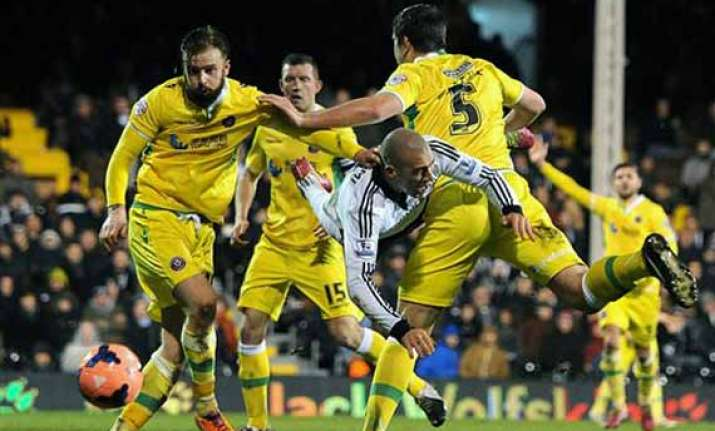 3rd tier sheffield united knocks fulham out of cup