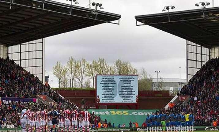 25 years on english football recalls hillsborough