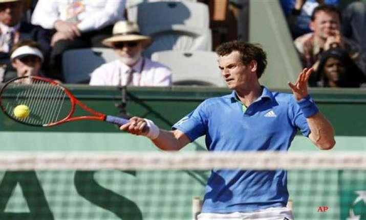 andy murray reaches french open semifinals