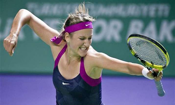 azarenka reaches wta championships semifinals