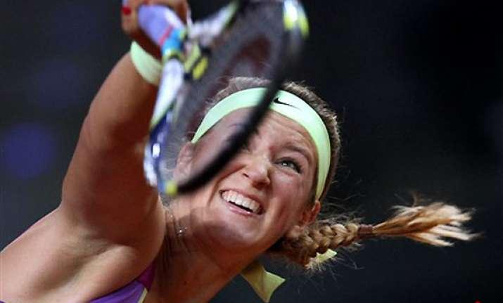 azarenka beats radwanska to reach porsche gp final