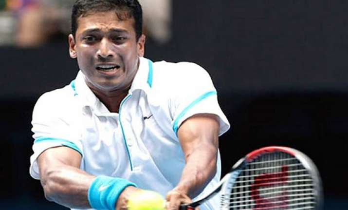 bhupathi bopanna lift first doubles title together