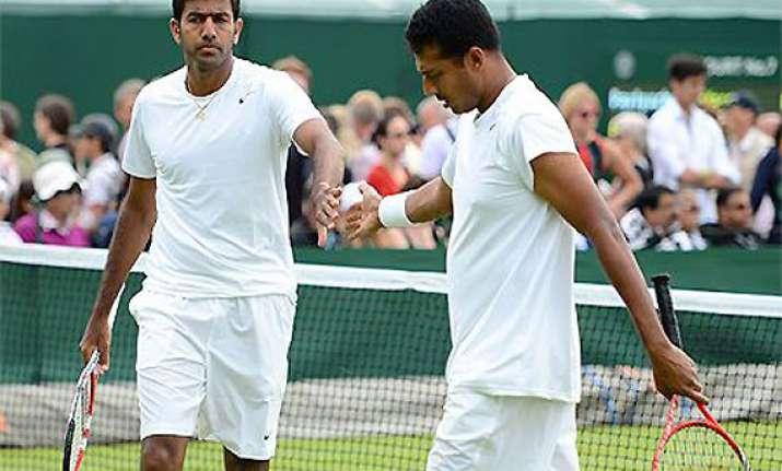 bhupathi bopanna win in paris clinch london berth