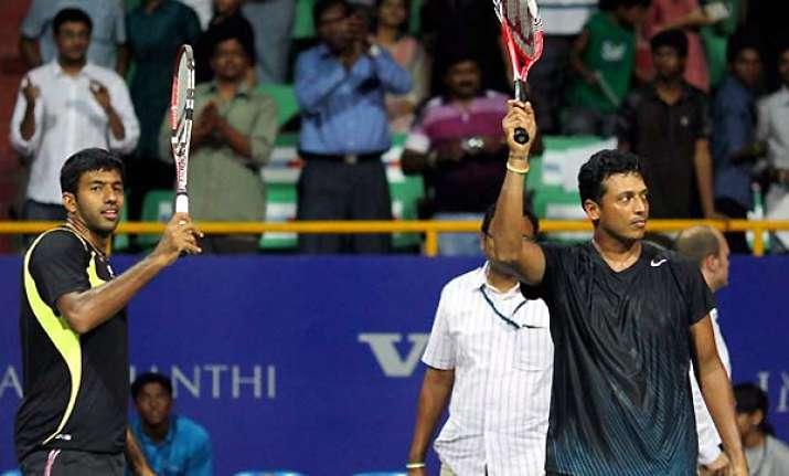 bhupathi bopanna pair not rattled by semifinal loss