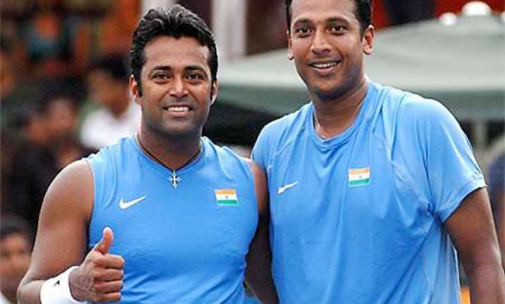 bhupathi may not team up with paes again
