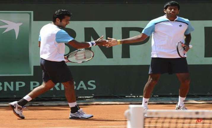bopanna qureshi enter third round of french open
