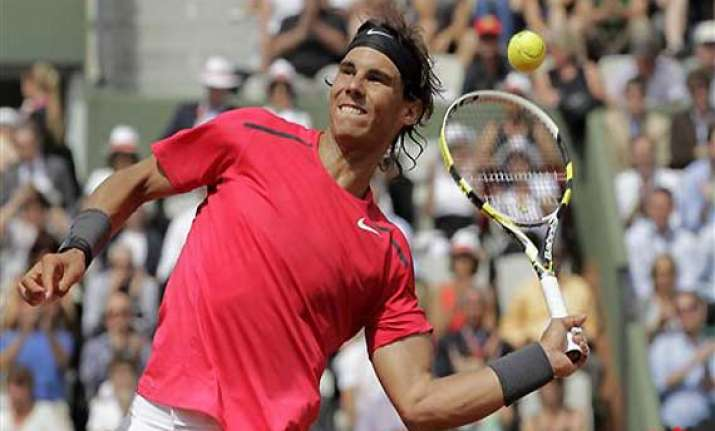 celebrating at french open is normal for nadal