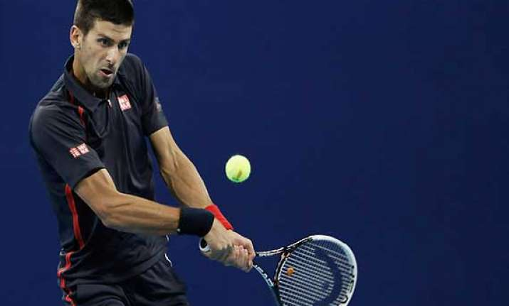 china open djokovic beats verdasco to reach beijing quarters
