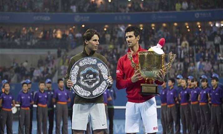 china open djokovic beats nadal 6 3 6 4 conquers title