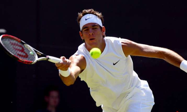 del potro withdraws from queen s because of injury