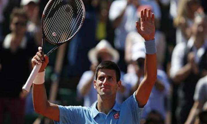 djokovic makes it back into french open final
