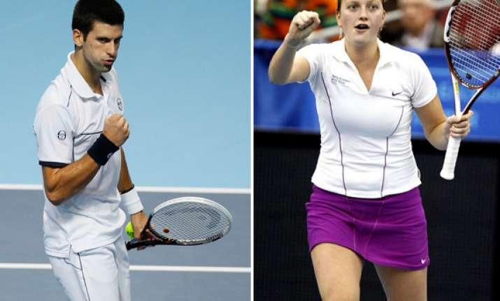 djokovic kvitova named itf world champions