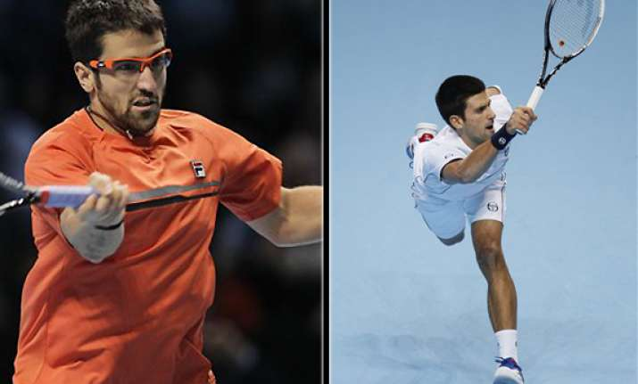 djokovic loses to tipsarevic at atp finals