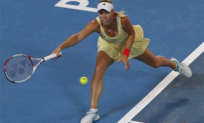 djokovic wozniacki top australian open seedings