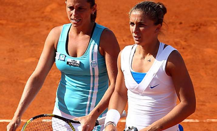 errani vinci win women s doubles at french open