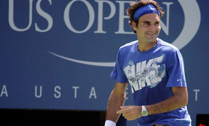 federer says he s still hungry as us open starts