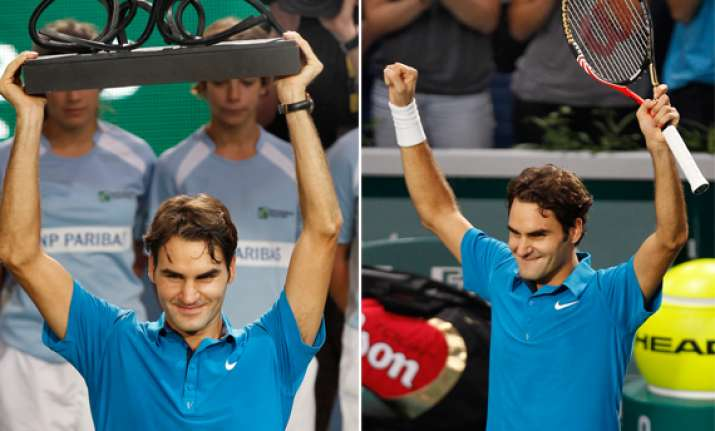 federer wins paris masters for 69th career title