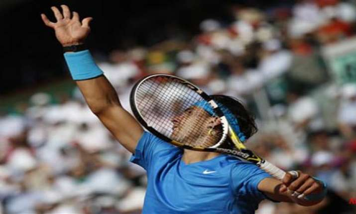 five time french champ nadal to face murray in semis
