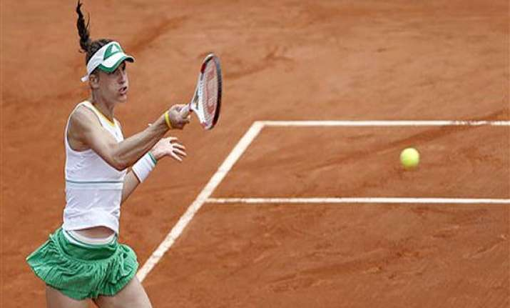 french open andrea petkovic advances to quarterfinals