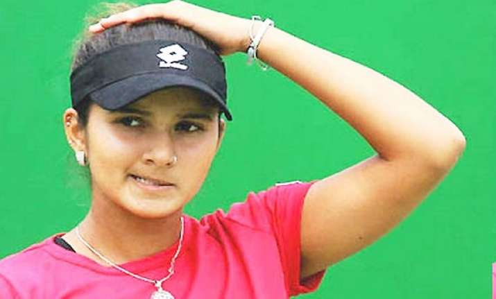 french open sania mirza loses in mixed doubles