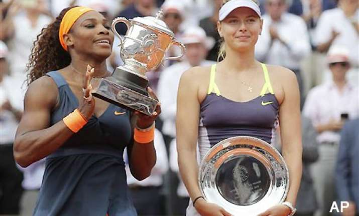 french open serena williams wins her 16th grand slam title