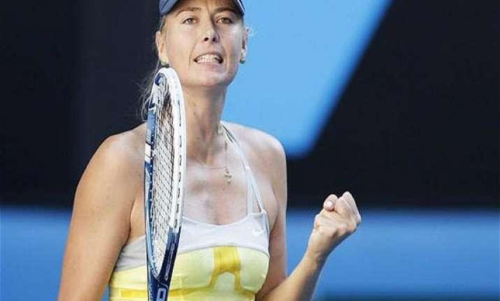 french open sharapova beats azarenka in semifinals