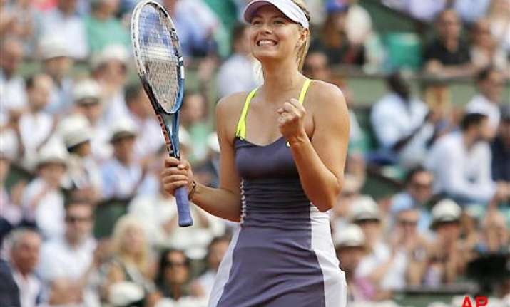 french open sharapova bids to end to poor run against