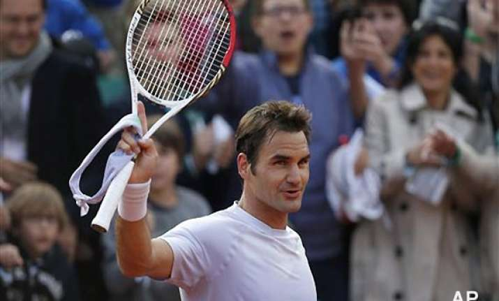 french open why is roger federer in a hurry