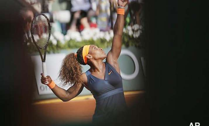french open 11 years later williams back in final