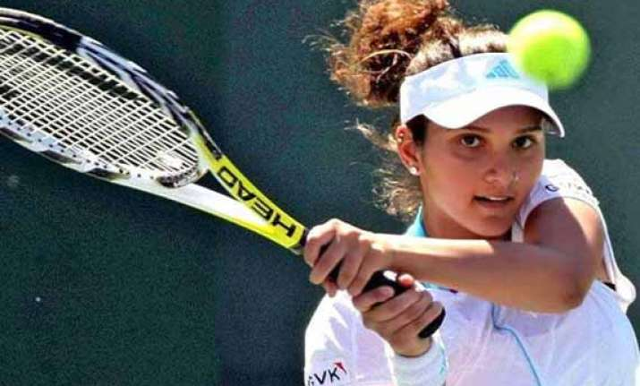 french open sania mirza in second round of women s and