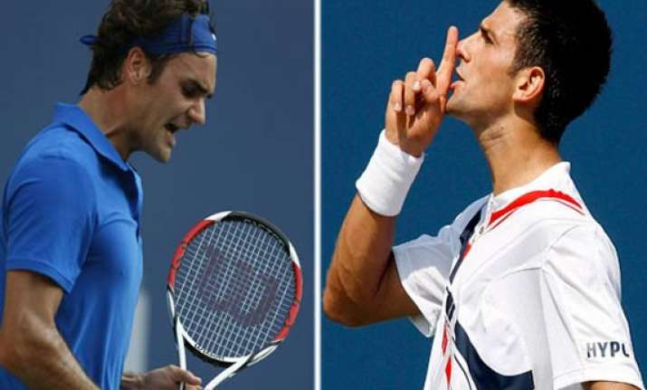 french open federer djokovic nadal murray in semifinals