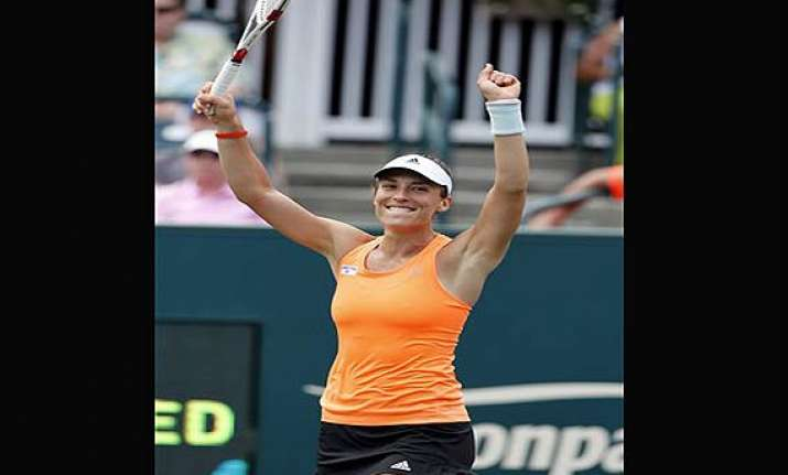 germany s petkovic wins family circle cup