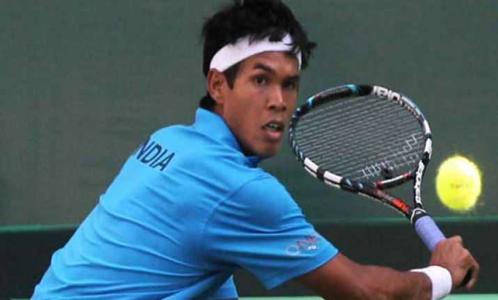 india aim to seal wg play off slot in davis cup